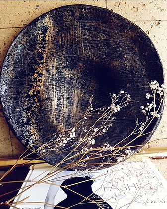 TEXTURED DECOR BOWL