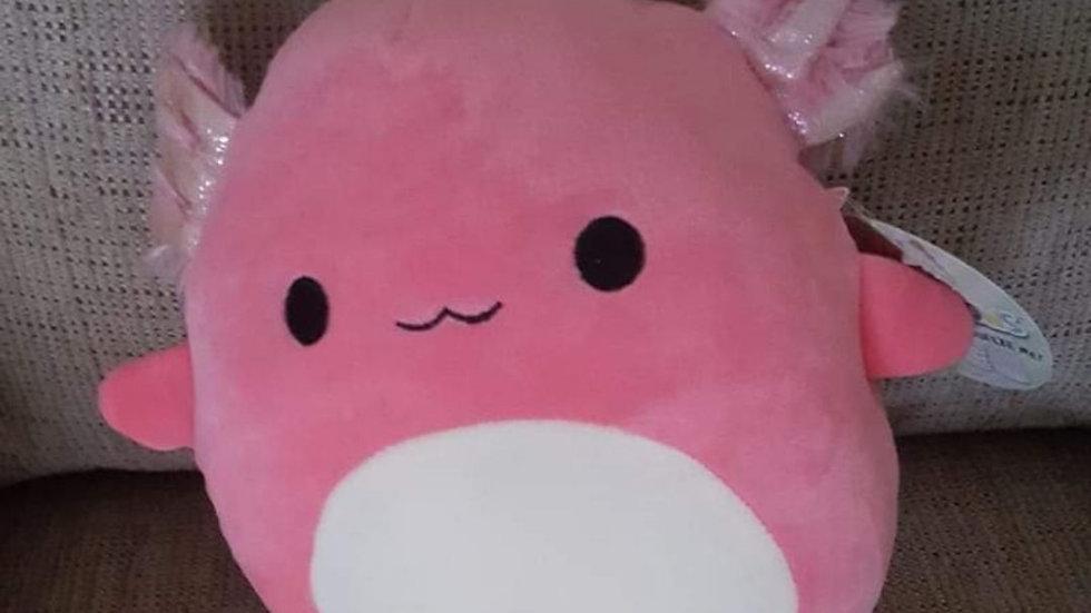 "Archie 8"" Axolotl plushie"