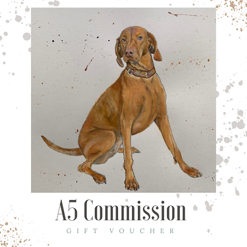 A5 Commission Gift Voucher