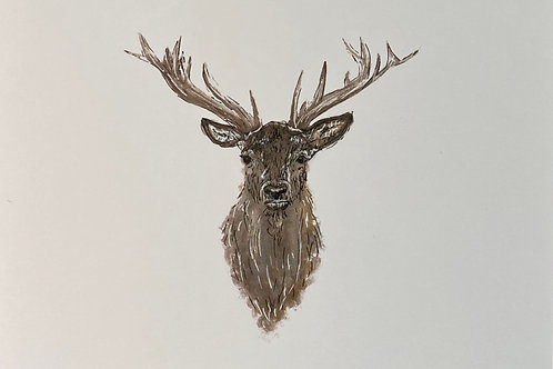 Burghley Stag