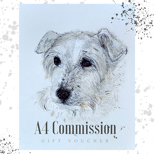A4 Commission Gift Voucher