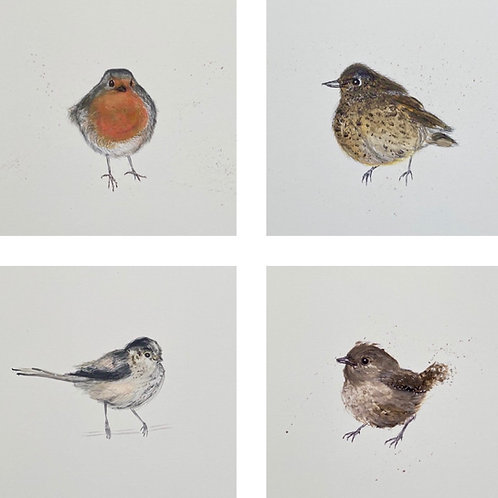 Set of 4 Birdies