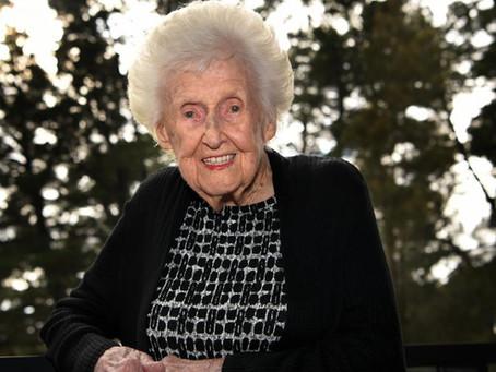 Mary Sadler turns 110!