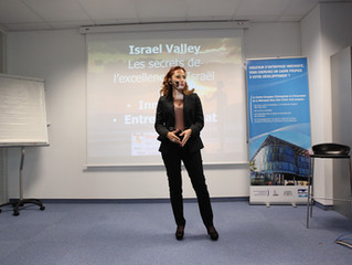 """Conference and radio interview:  """"The secrets of Israël excellence in entrepreneurship and innovatio"""