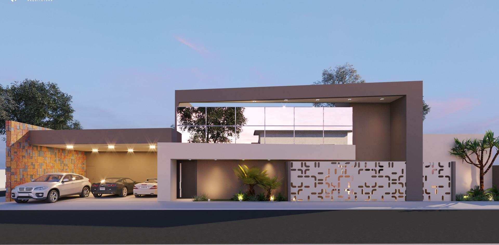 Residencia R em Ponta Porã, MS