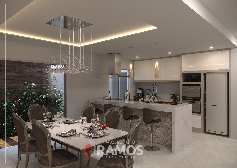 Design de Interiores, Cozinha.
