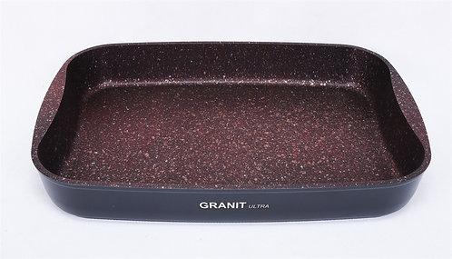 Противень 36,5 x 26 x 5,5 см, АП линия «Granit Ultra» (Red)