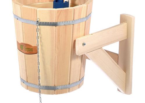 Русский душ 14 л, обливное устройство c пластиковой вставкой и наливным клапаном