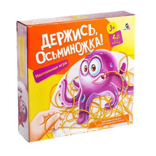Настольная игра на ловкость «Держись, осьминожка!»