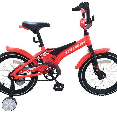 "Детский велосипед Stark Tanuki 16"" Boy 2019"