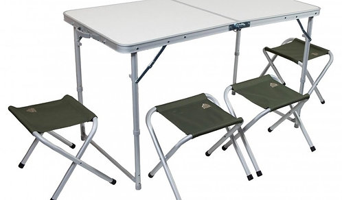 Набор мебели TREK PLANET EVENT SET 120 (стол+4 стула) 70665