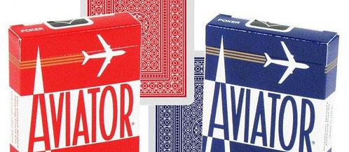 "Карты ""Aviator Standard Index red/blue"""