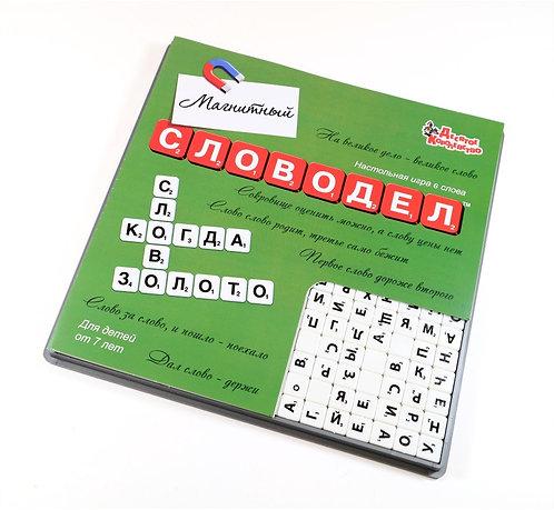 Настольная игра «Словодел Магнитный» (мал)