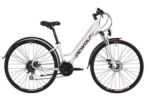 """Городской женский велосипед DEWOLF Asphalt FS 28"""" 2019"""