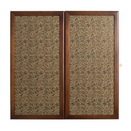 Нарды кожаные «Золото» малые (Россия, дерево, 40х20х5 см)