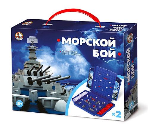 Игра настольная «Морской бой» (мини)