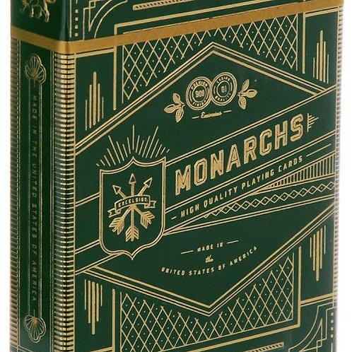 "Карты ""Theory11 Green Monarchs"""