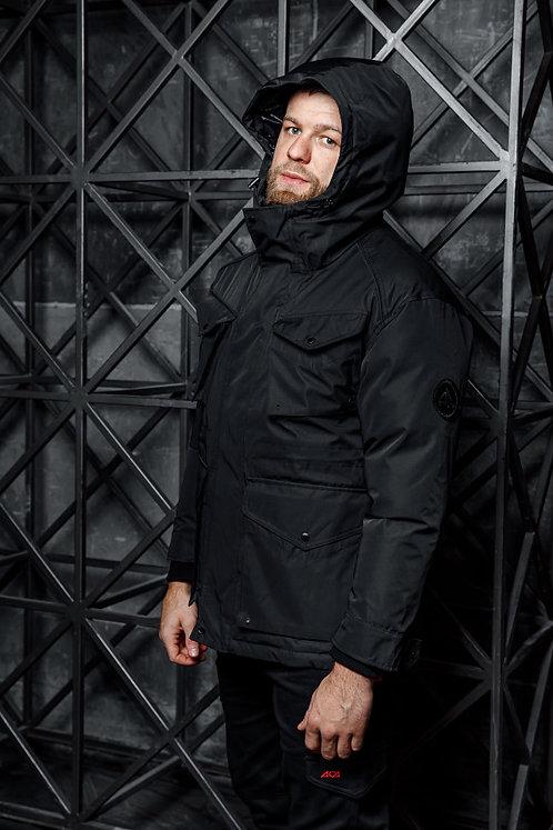 Куртка зимняя iamfighter (black)