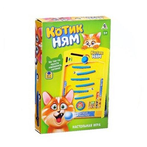 Настольная игра на ловкость «Котик Ням»