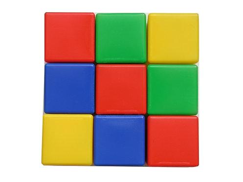 Набор кубиков, 9 штук