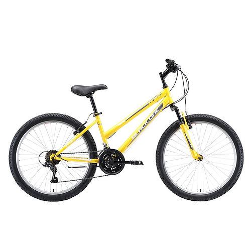 "Велосипед подростковый Black One Ice Girl 24, 24"" 2020"