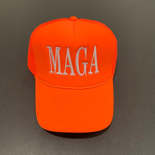 Orange/White MAGA