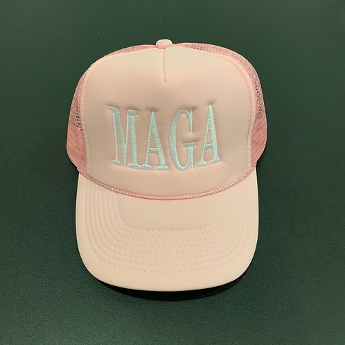 Pink/White MAGA