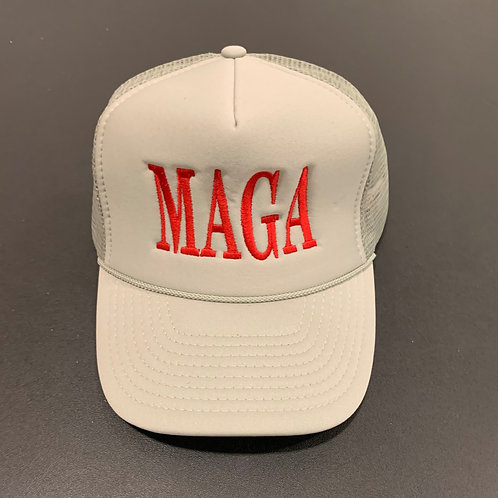 Gray/Red MAGA