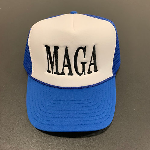 Blue/White/Black MAGA