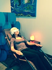 BrainTap, Brain Spa, light and sound technology, stress relief, pain relief, restful sleep, neurofeedback, hypnosis, meditation, subconscious beliefs, anxiety, depression, Focused on health