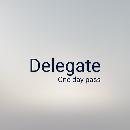 One-Day Delegate Pass - FPCC