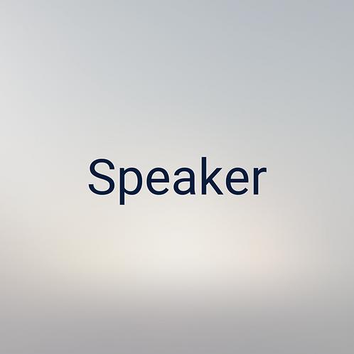 Speaker Pass - FPCC