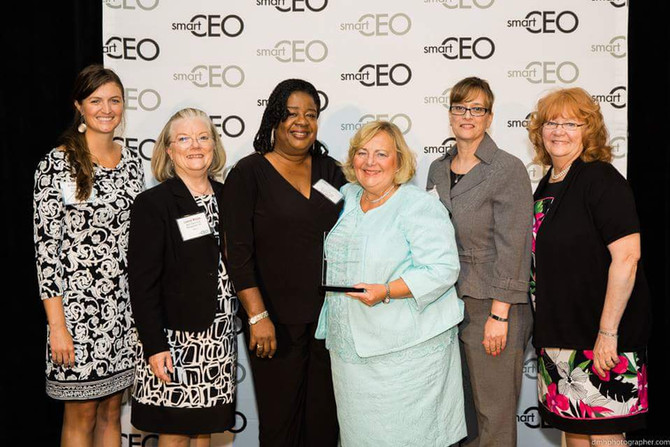 Karen Maier, MS, RD is chosen as the Smart CEO for Large Companies in the South Jersey Area!