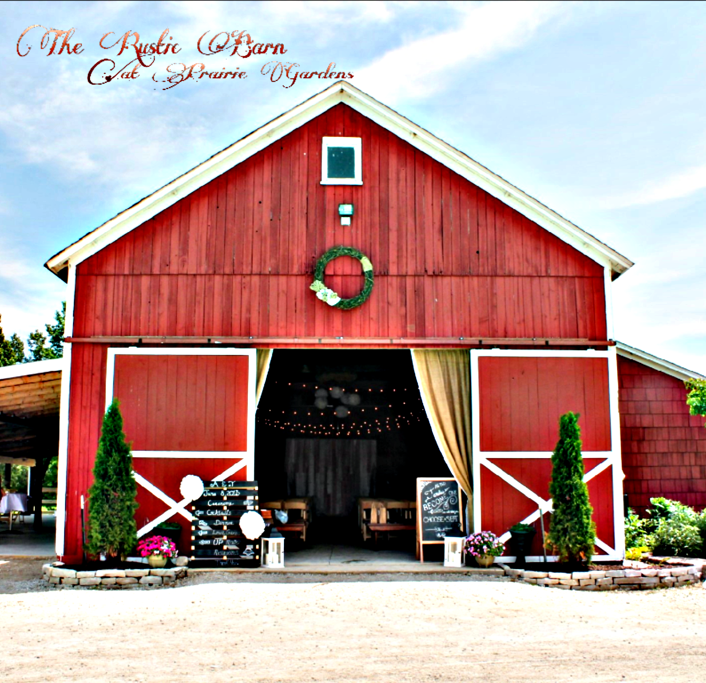The Rustic Barn At Prairie Gardens Wisconsin Rustic