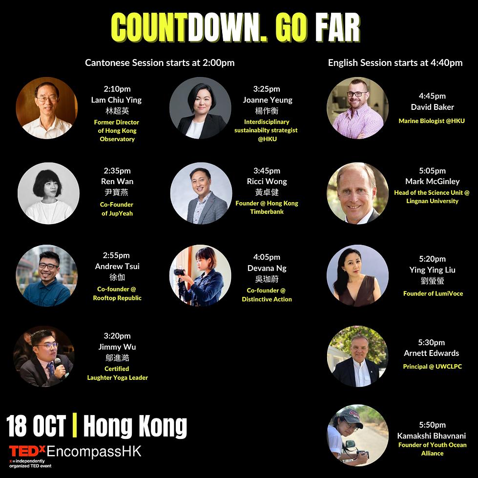 [Tedx] Introduce all confirmed speaker_E