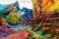 نقاشی رهایییافته: رنگ و گرانش