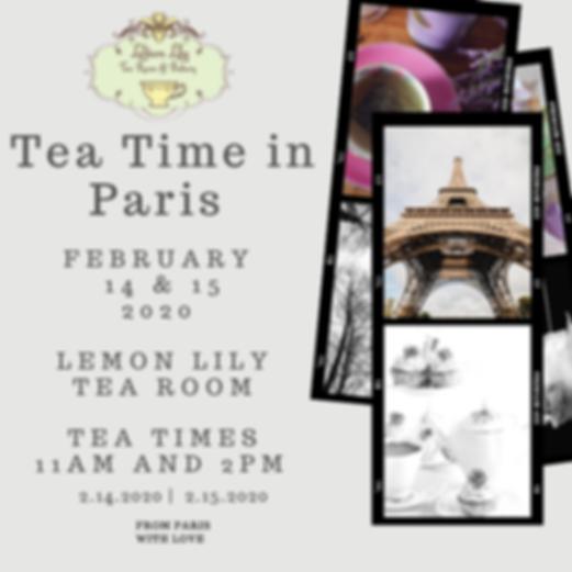 Tea Time in Paris Photo Album .png