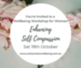 You're invited to a Wellbeing Workshop f