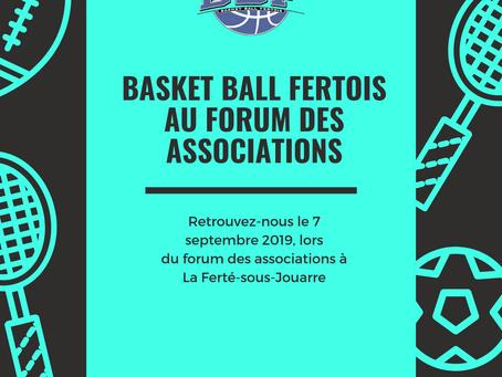 Le Basketball Fertois s'invite au Forum des associations de La Ferté-sous-Jouarre