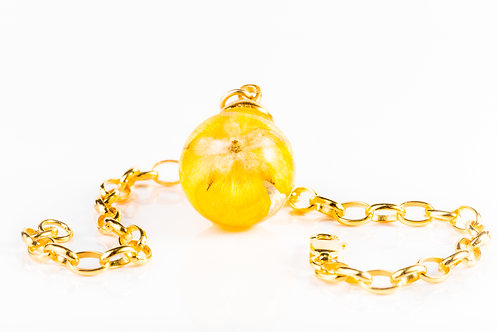 Buttercup sterling silver and gold plated stacking bracelet