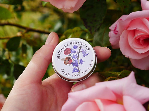 Scottish Fresh Rose Lip Balm - Natural Organic Lip Balm