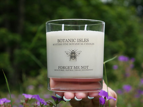 Forget me not two wick candle