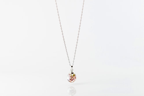 Heather sterling silver necklace