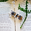 Thumbnail: Lavender sterling silver resin cylinder necklace