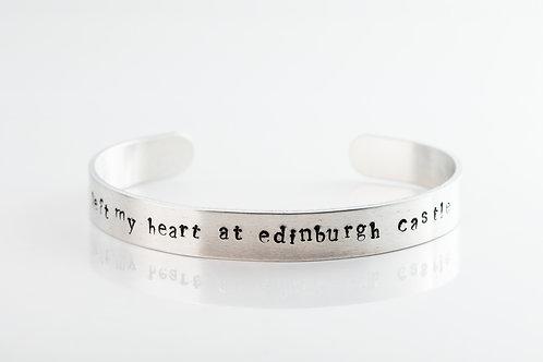 I left my heart at Edinburgh castle