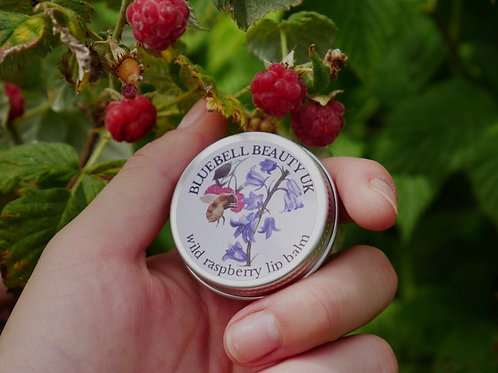 Scottish Wild Raspberry Lip Balm - Natural Organic Lip Balm