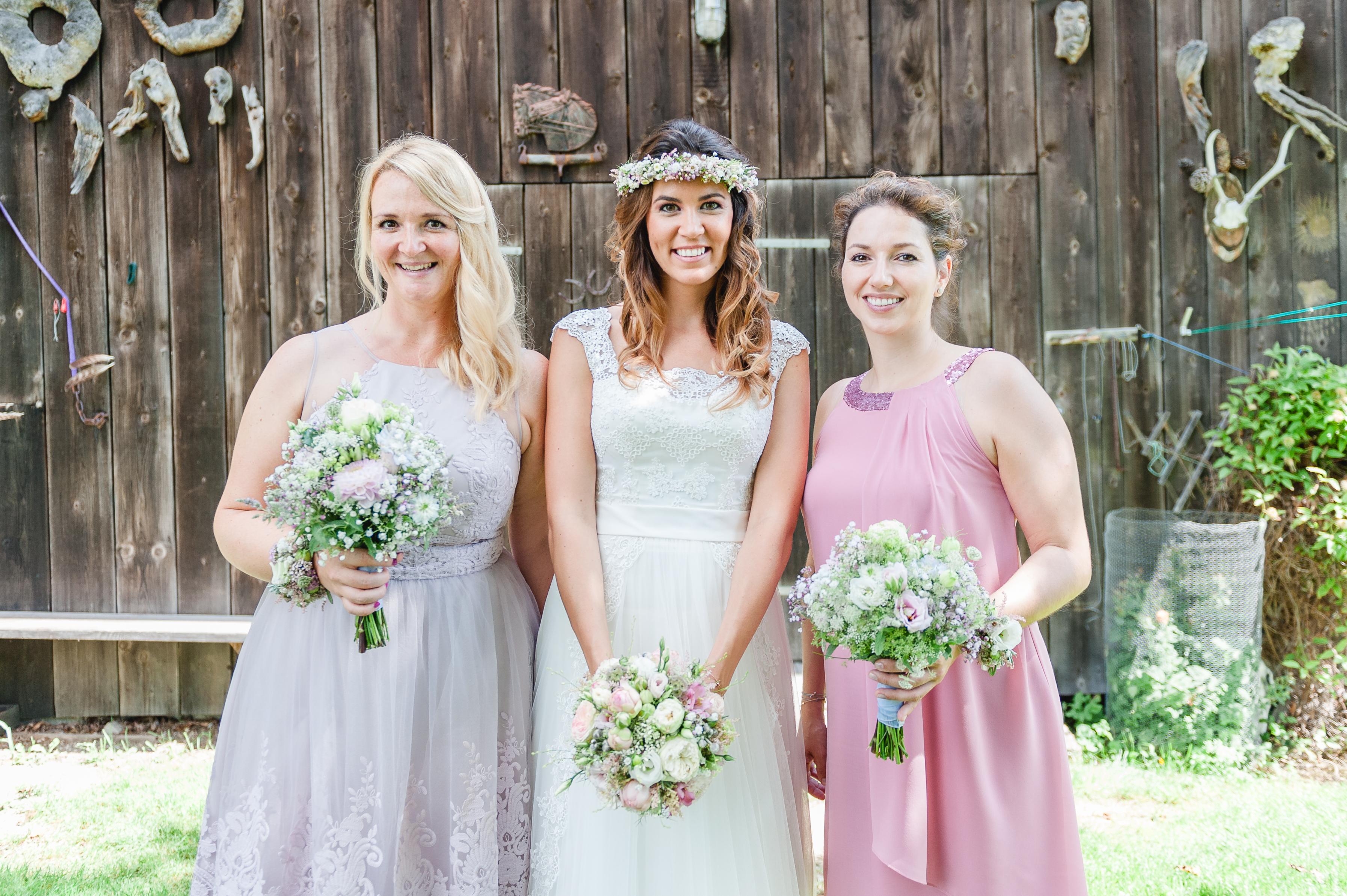 Hochzeit Vintage Blumenkranz