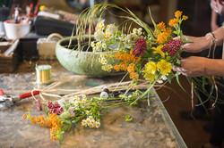 Handarbeit Blumen Natur