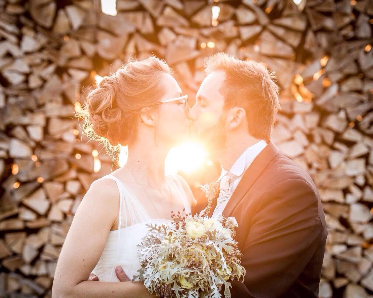 Brautpaar Strauß