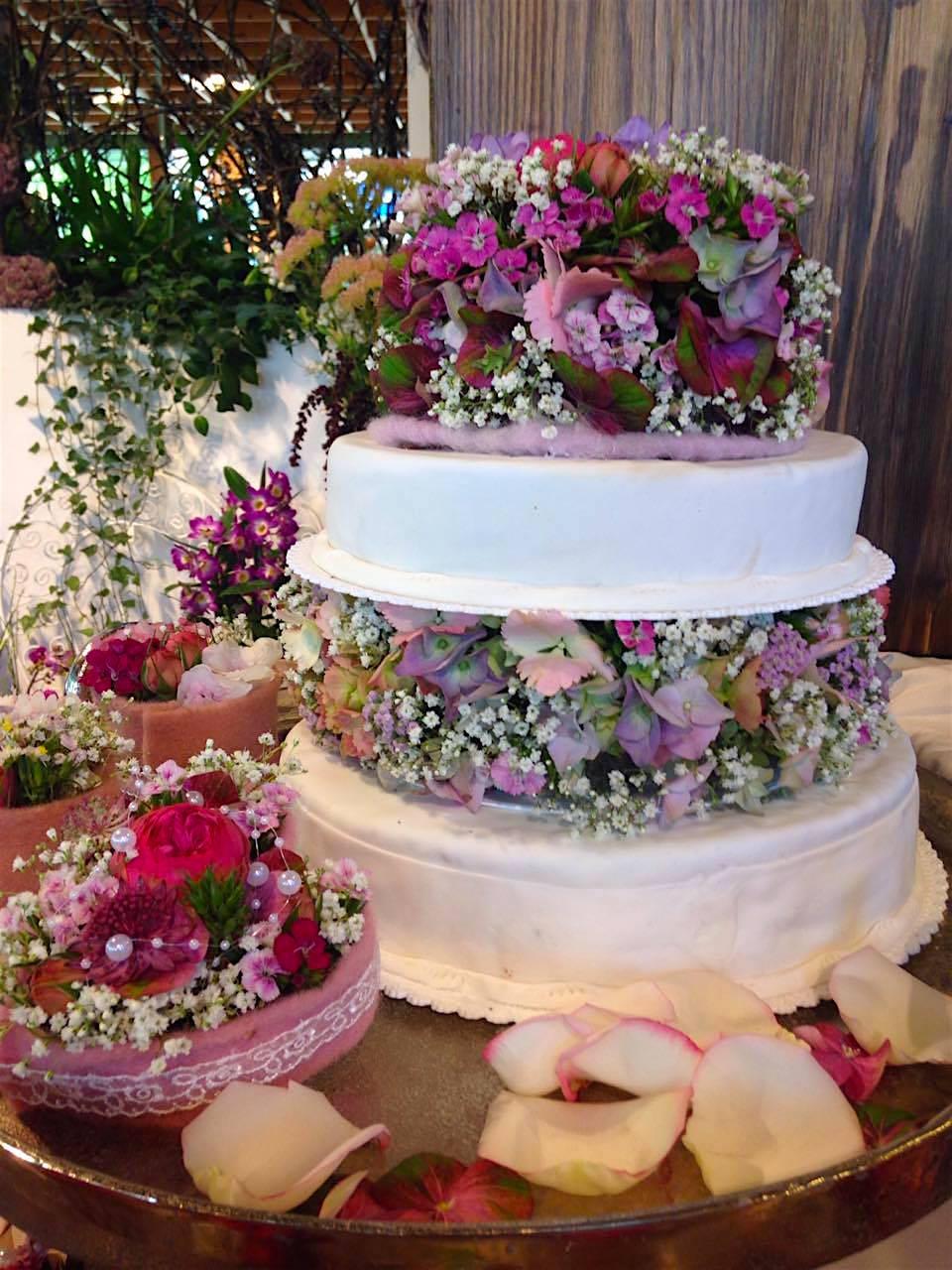 Torte Blumen Vintage Candy Bar